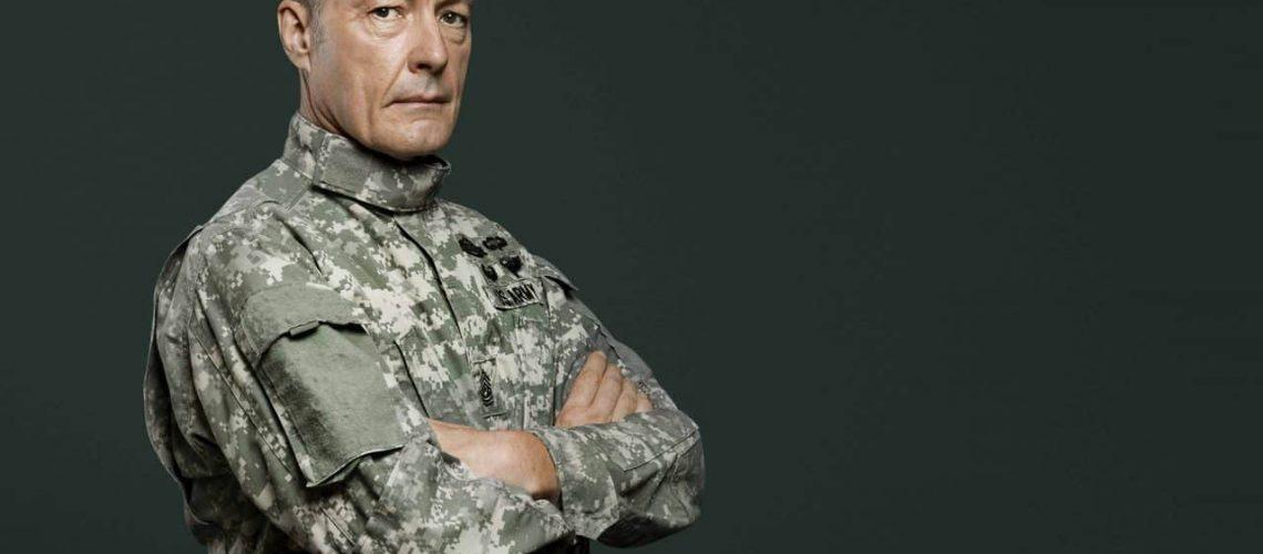 Male Soldier Uniform Portrait